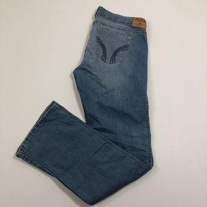 Hollister Light Wash Bootcut Jeans Size 13R